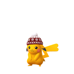 Imagerie de Pikachu (bonnet) - Pokédex Pokémon GO