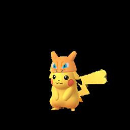 Imagerie de Pikachu (dracaufeu) - Pokédex Pokémon GO
