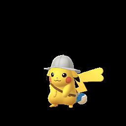 Imagerie de Pikachu (explorateur) - Pokédex Pokémon GO