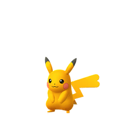 Sprite femelle chromatique de Pikachu - Pokémon GO