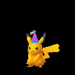 Imagerie de Pikachu (festif) - Pokédex Pokémon GO