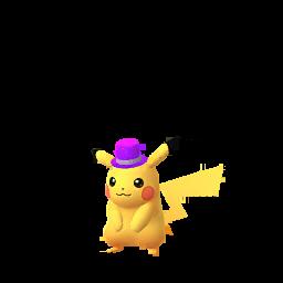 Imagerie de Pikachu (festif2020) - Pokédex Pokémon GO