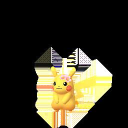 Imagerie de Pikachu (fleur) - Pokédex Pokémon GO