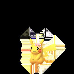 Pokémon pikachu-fleur