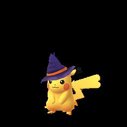 Imagerie de Pikachu (halloween) - Pokédex Pokémon GO