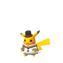 Imagerie de Pikachu (holiday2020) - Pokédex Pokémon GO