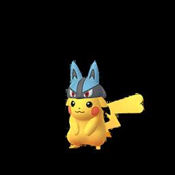 Imagerie de Pikachu (lucario) - Pokédex Pokémon GO
