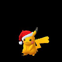 Imagerie de Pikachu (noel) - Pokédex Pokémon GO
