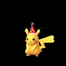 Sprite femelle de Pikachu - Pokémon GO