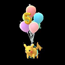 Pokémon pikachu-volant-5eme-anniv