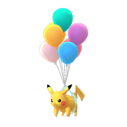 Sprite  de Pikachu - Pokémon GO