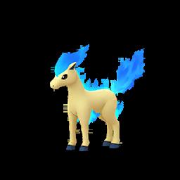 Fiche de Ponyta - Pokédex Pokémon GO