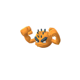 Sprite chromatique de Racaillou (Forme d'Alola) - Pokémon GO