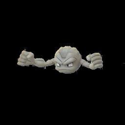 Sprite  de Racaillou - Pokémon GO