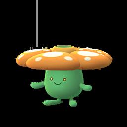 Sprite femelle chromatique de Rafflesia - Pokémon GO