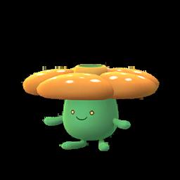 Sprite mâle chromatique de Rafflesia - Pokémon GO