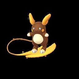 Fiche de Raichu d'Alola - Pokédex Pokémon GO