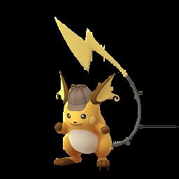 Pokémon raichu-detective
