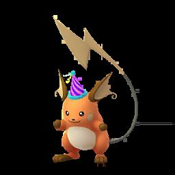 Sprite mâle chromatique de Raichu - Pokémon GO