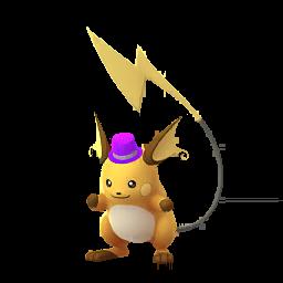 Pokémon raichu-festif2020