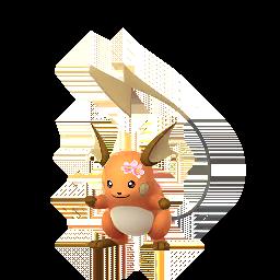 Pokémon raichu-fleur-s