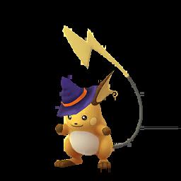 Sprite femelle de Raichu - Pokémon GO