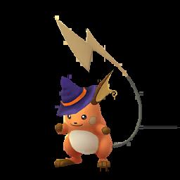 Pokémon raichu-halloween-s