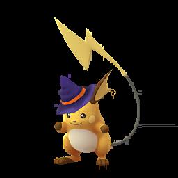 Pokémon raichu-halloween