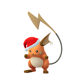 Sprite femelle chromatique de Raichu - Pokémon GO