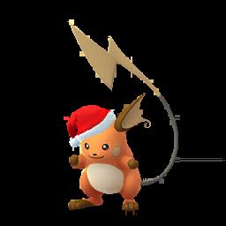 Pokémon raichu-noel-s