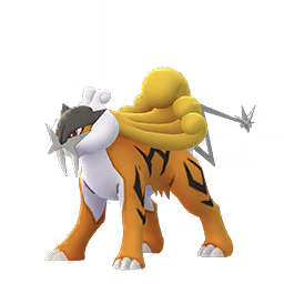 Sprite chromatique de Raikou - Pokémon GO