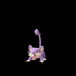 Sprite femelle de Rattata - Pokémon GO
