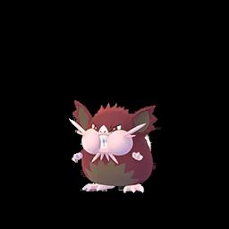 Sprite chromatique de Rattatac (Forme d'Alola) - Pokémon GO