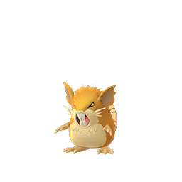Sprite femelle de Rattatac - Pokémon GO