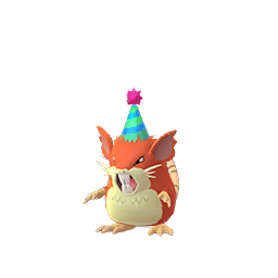 Sprite femelle chromatique de Rattatac - Pokémon GO