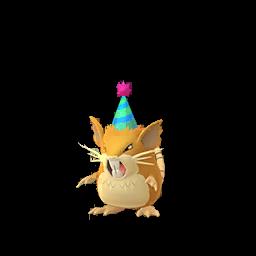 Sprite mâle de Rattatac - Pokémon GO