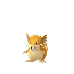 Rattatac - Évolution de Rattata