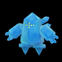 Modèle shiny de Regice - Pokémon GO