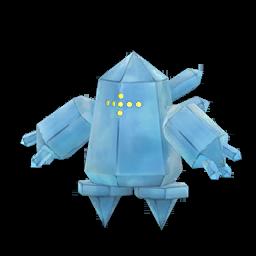 Modèle de Regice - Pokémon GO