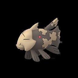Sprite femelle de Relicanth - Pokémon GO