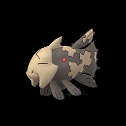 Modèle de Relicanth - Pokémon GO