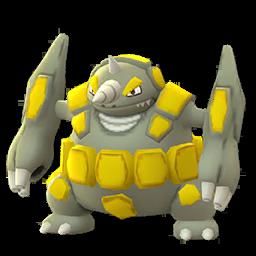 Sprite femelle chromatique de Rhinastoc - Pokémon GO