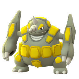 Sprite mâle chromatique de Rhinastoc - Pokémon GO