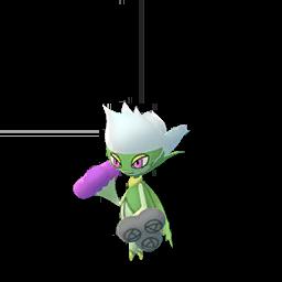 Sprite mâle chromatique de Roserade - Pokémon GO