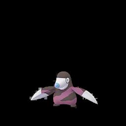 Sprite chromatique de Rototaupe - Pokémon GO