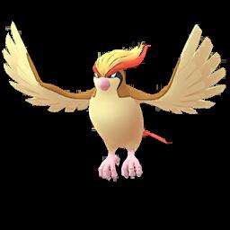 Modèle de Roucarnage - Pokémon GO