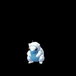 Sprite chromatique de Sabelette (Forme d'Alola) - Pokémon GO