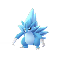 Sprite chromatique de Sablaireau (Forme d'Alola) - Pokémon GO