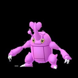 Sprite femelle chromatique de Scarhino - Pokémon GO