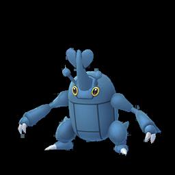 Sprite femelle de Scarhino - Pokémon GO